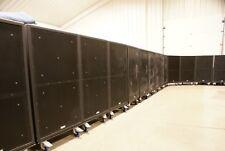 EAW KF850zR (Pair) & SB850zR (Pair) Loudspeaker Bundle w- Caster Boards & Covers