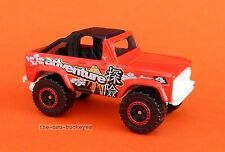 2012 Matchbox Loose 1972 '72 Ford Bronco 4X4 Red Adventure Combine Shipping