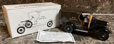 United Parcel Service UPS 1929 Model A Delivery Truck 1/25 Scale + COA Used