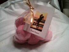 7 Bath Bombs 2.2 oz each, ultra-moisturizing, golf ball size, great for dry skin