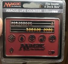 Ultra Pro Abacus Life Counter: Magic the Gathering - Red (Card Size)