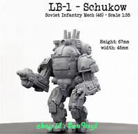 Mechanic Robot Soldier Figure 1/35 Model Kits Resin Unpainted Unassembled