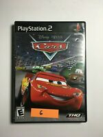 Cars (Sony PlayStation 2, PS2, 2006) Disney Pixar