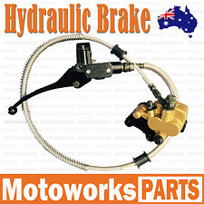 Hydraulic Front Disc Brake Caliper System 50cc 70cc 125cc Pit Pro Dirt Bike 1