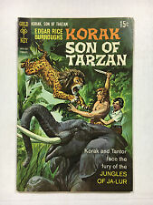 Korak Son of Tarzan #27  F+ Gold key comic 1969 Painted cover