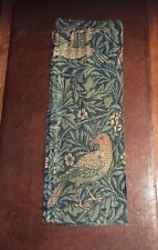 William Morris Bird Fabric Original Fragment C1880s Morris & Co (3)