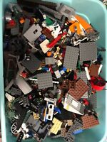 2 lbs Pounds Lego Parts Pieces from HUGE BULK LOT-  Star Wars Harry Potter More