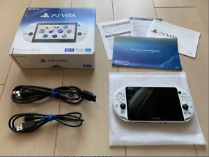 Sony PlayStation PS Vita Slim PCH-2000 WiFi Glacier White PSV Console