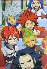 Inazuma Eleven / Aikatsu! poster promo go movie anime official