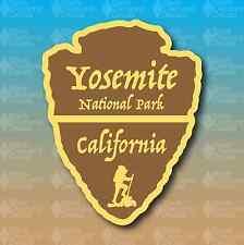 "Yosemite National Park California Arrowhead 5"" Hike Custom Vinyl Decal Sticker"