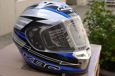 KBC VR-2 Racer Blue helmet  S (M)  New