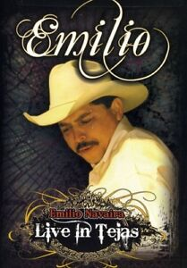 Emilio Navaira - Live in Tejas [New DVD] Amaray Case