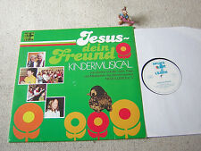 JESUS - DEIN FREUND Kindermusical 1978 LP NEUES LEBEN, VANN TRAPP GORDON SCHULTZ