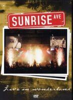 "SUNRISE AVENUE ""LIVE IN WONDERLAND"" DVD NEW+"