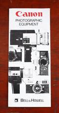 Canon / Bell & Howell Studio Equipment Ausklappbares, Markiert / 206296
