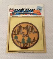 """Vintage NOS """"WALL TO WALL & TREE TOP TALL"""" CB Radio Patch"""