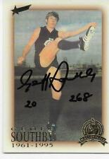 HALL OF FAME CARD GEOFF SOUTHBY HAND SIGNED / BEST QUALITY SIGNATURES