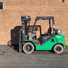 2012 Komatsu Fg30Ht16 6000lb Forklift Quad Mast