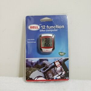 New BELL Bicycle Bike Computer 12 Function Large Display Odometer Clock Timer