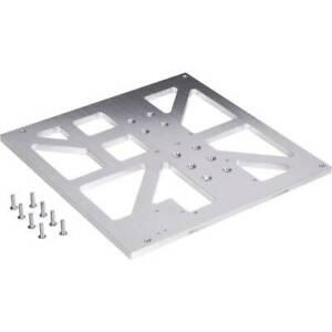 Sottopiano in alluminio da 8 mm per fresatura adatto renkforce rf1000