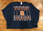 Syracuse Ugly Christmas Sweater Size Large New Without Tags