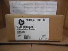 9L20FXX006XHS GE Distribution Arrester 6 kV Duty Cycle Rated