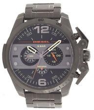 Diesel Mens Grey Dial Gunmetal Stainless Steel Bracelet Watch DZ-4363 51mm