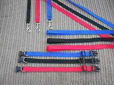 """.3/4"""". PUPPY DOG LEAD AND COLLAR FOR THE SMALLER DOGS ."""