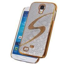 Hardcover Glamour-Wave silver-gold für Samsung I9500, I9505 Galaxy S4