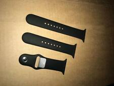 Genuine Apple Watch Sports Band Strap Black Series 1,2 and 3 S-M + M-L For 42MM
