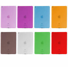 Slim Thin Clear See Thru Soft Back Cover Case for iPad 2 3 4 5 - Air 1 2 - Mini