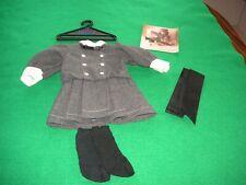 "Pleasant Company 1994 Samantha""s Buster Brown Dress, Socks,Hair Ribbon, Brochure"