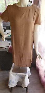 Robe Ou Tee-shirt Long Manches Courtes Femme T 38