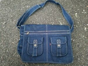 Levis Blue Jean Bag Purse MESSENGER BAG