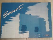 Ford Escort range brochure Nov 1994 Irish market