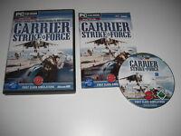CARRIER STRIKE FORCE Pc Add-On Expansion Flight Simulator Sim 2004 X FS2004 FSX