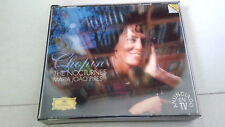 """MARIA JOAO PIRES """"CHOPIN THE NOCTURNES"""" 2CD 21 TRACKS STERERO 447 096-2 GH2"""