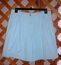 REFLECTIONS SHORTS~Mint Green~Pleat Front~Pockets~Miss Size 16~FREE SHIP