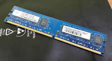 Nanya nt1gt64u8hb0by-3c (1gb, pc2-5300 (ddr2-667), ddr2 SDRAM, 667 MHz, DIMM