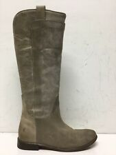 Frye Womens Jayden Button Tall Taupe Riding Boots Size 8M