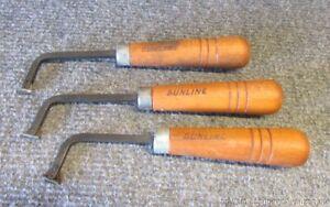 3 Gunline Gun Checkering Tools