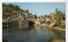 Universal Studios Prop Plaza CA Postcard 1967