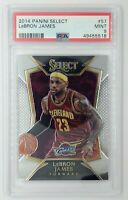 2014-15 Panini Select LeBron James #57, Cavaliers, Lakers, Graded PSA 9