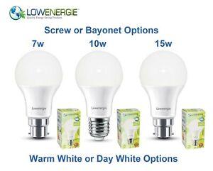 7w 10w 15w LED Light Bulb Traditional A60/A65 GLS A+ Bright Energy Saving Lamp