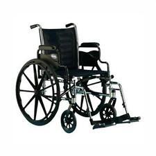 "Invacare Heavy Duty 24"" Bariatric Wheelchair 350 capacity, w/Desk Length Arms"