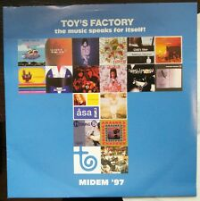 Toy's Factory: The Music Speaks for Itself - MIDEM '97 CD Promo Cardsleeve Mint