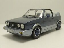 "Volkswagen VW Golf Cabriolet ""BEL AIR"" 1992 Blue Metallic 1:18 Model 188404"