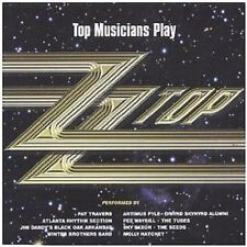 ZZ Top Tribute CD NEW SEALED Pat Travers/Molly Hatchet/Sky Saxon/Fee Waybill..