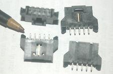 Molex 0 70545003 9 Shrouded Header Connector 5 Pin 254mm Thru Hole Lot Qty 10