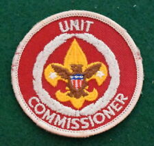 BOY SCOUT ADULT POSITION PATCH - UNIT COMMISSIONER